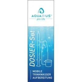 Dosier-Set Mobile Trinkwasser Aufbereitung