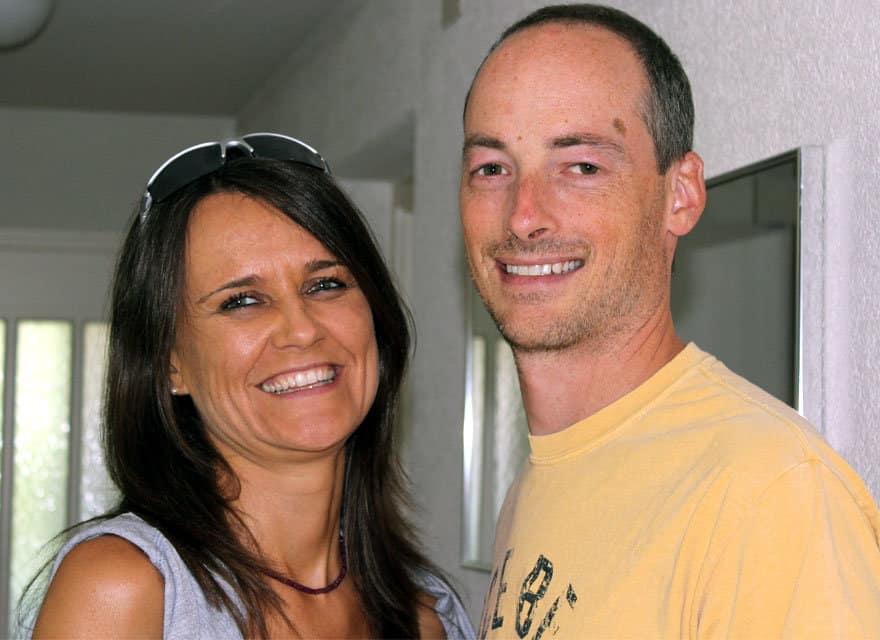 Eva Hutterer und Daniel Angst