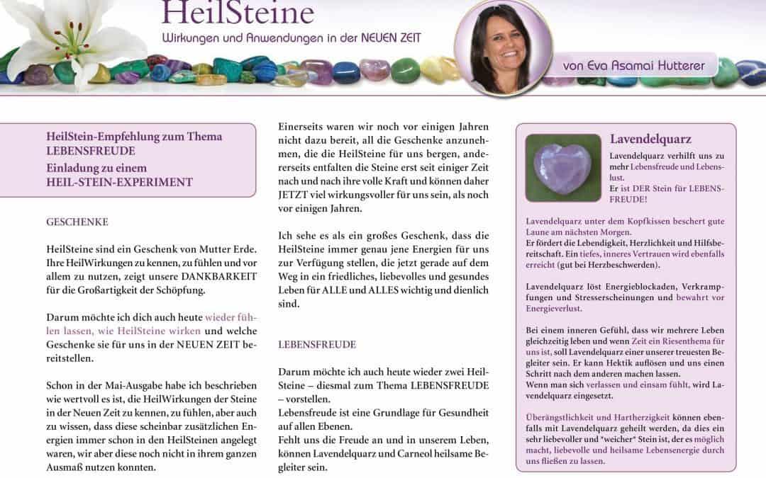 MYSTIKUM 06/17: HeilSteine – Wirkungen und Anwendungen in der NEUEN ZEIT