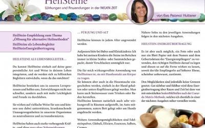 MYSTIKUM 08/17: HeilSteine – Wirkungen und Anwendungen in der NEUEN ZEIT