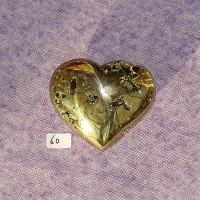 Pyrit-Herz Nr. 60