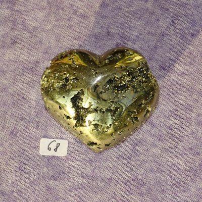 Pyrit-Herz Nr. 68