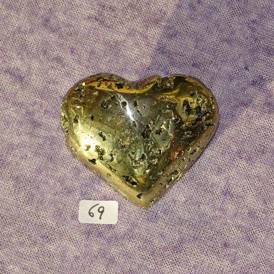 Pyrit-Herz Nr. 69