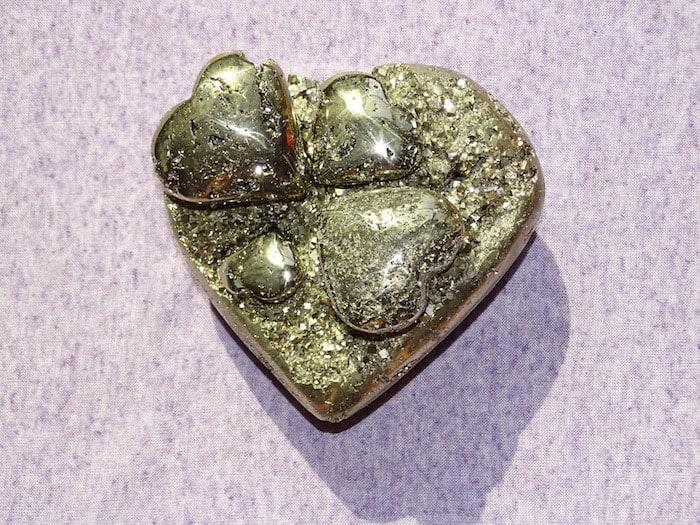 Pyrit Herz