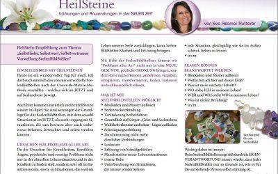 MYSTIKUM 11/17: HeilSteine – Wirkungen und Anwendungen in der NEUEN ZEIT
